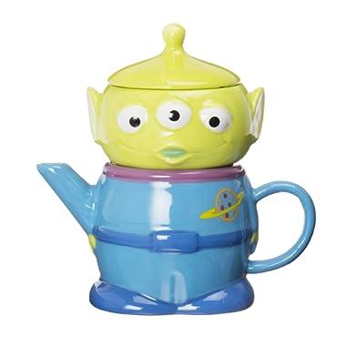 Disney TEA FOR ONE Little Green Men SAN2182 (japan import)