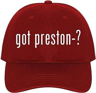 The Town Butler got Preston-? - A Nice Comfortable Adjustable Dad Hat Cap