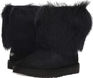Womens Short Sheepskin Cuff Boot