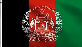 علم الولايات المتحدة الأمريكية وحرب جمهورية أفغانستان الإسلامية 9 × 152 سم من البوليستر 100% وعلم مقاوم للأشعة فوق البنفسج...