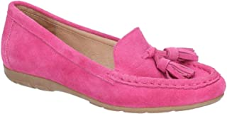 Hush Puppies Womens/Ladies Daisy Slip On Moccasin Suede Shoe