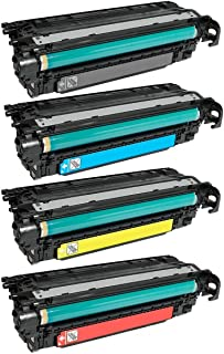 ADE Products Compatible Replacement for HP 507A HP 507X Toner Set, HP CE400X, CE401A, CE402A, CE403A, for HP Laserjet Enterprise 500 Color M551dn, M551n, M551xh, MFP M575dn, MFP M575f, MFP M575c