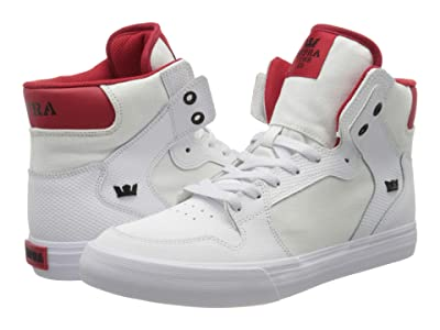 Supra Vaider (White/Red/White) Men
