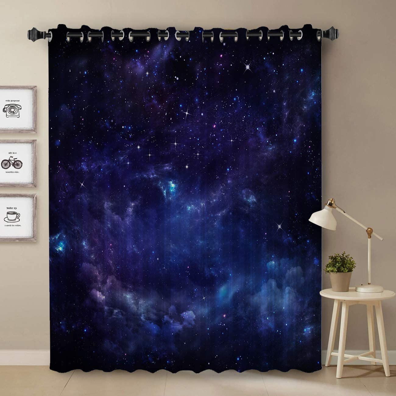 Darkening Blackout Curtain for Bedroom - Mail order Window Long 2021new shipping free shipping inch Tre 52