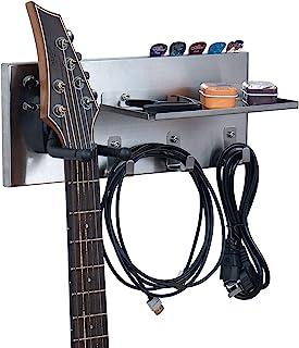 Shinar - Soporte de pared para guitarra, acero inoxidable, s