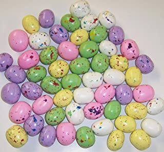 Scott's Cakes Speckled Colored Chocolate Malted Easter Eggs in a 1 Pound White Bakery Box
