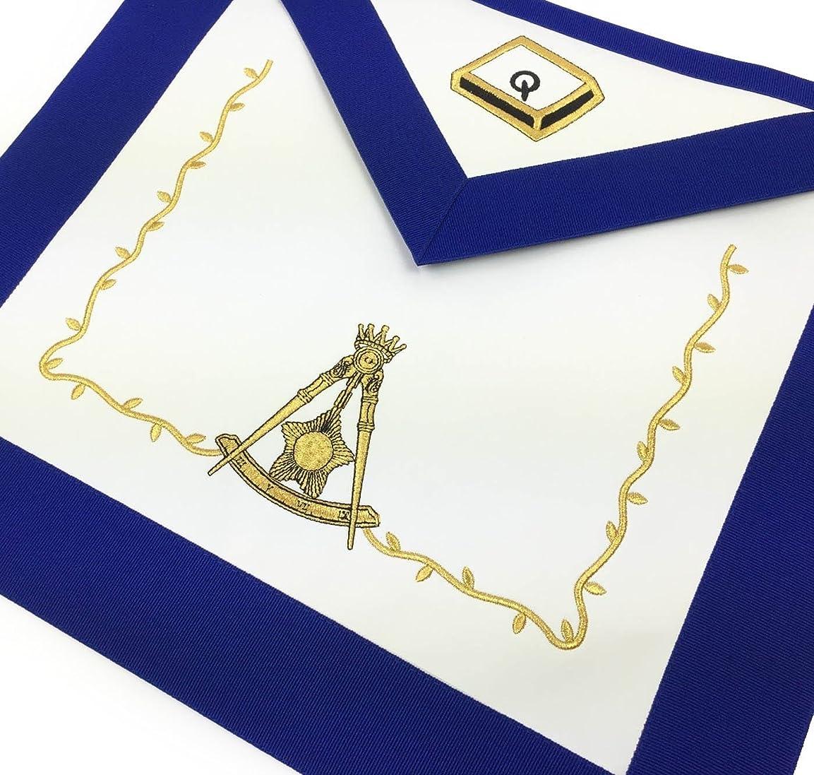チーター安らぎ十分ですBricks Masons Masonic Blue Lodge 14度エプロン 9枚セット