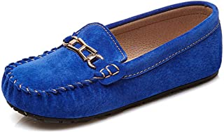034a41c1d5d Miyoopark Boy Girls Kid s Snap Suede Slip-on Casual Dress Loafers