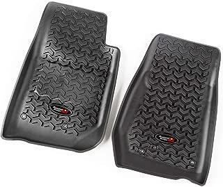Rugged Ridge All-Terrain 12920.03 Black Front Row Floor Liner For Select Jeep Wrangler Models