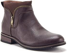 Men's Classic Designer Zipper Casual Chukka Ankle High Dress Boots