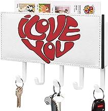 Crochet de clé fixé au mur, trieur de courrier, décoration de la Saint-Valentin avec logo d'amour pour la salle d'entrée, ...