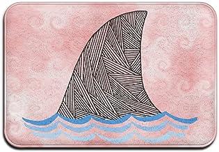 Cute Doormats Shark Art Whale Funny Personalized Door Mats Indoor Door Mats Pattern Novelty Doormat Decorative Bathroom Be...