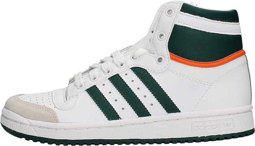 adidas - Basket garçon Top Ten Hi J Ef2831 Blanc/Vert
