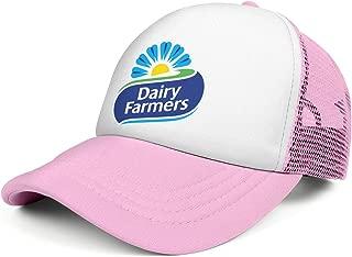 Mens and Womens Dairy Queen Logo Png Trucker Flat Baseball HatAdjustable Vintage