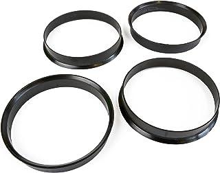4 Anelli di Centraggio per cerchi in lega da 63,3 a 58,1mm Kit di 4 pezzi