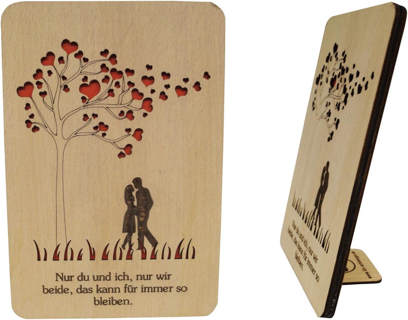LIN 20 20D Holzkarte