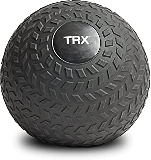 TRX Training Slam Ball, Easy- Grip Tread & Durable Rubber Shell