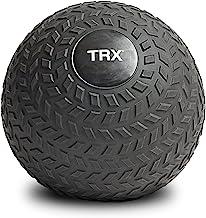 TRX Training Slam Ball, Easy-Grip Tread & Durable Rubber Shell, 15lbs