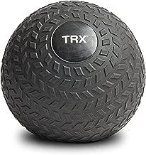 TRX Training Slam Ball, Easy- Grip Tread & Durable Rubber Shell