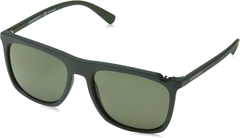 Emporio Armani EA4095 55999A Green Black EA4095 Square Sunglasses Lens Category