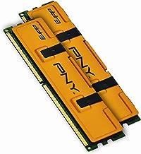 PNY Optima MD4096KD3-1333 4GB Dual Channel Kit DDR3 1333 MHz PC3-10666 Desktop DIMM Memory Kit