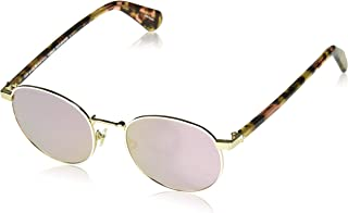 Kate Spade New York Womens Adelais/S Pink Havana/Grey/Rose Gold One Size One Size