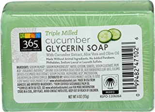 365 Everyday Value, Cucumber Glycerin Soap, 4 Oz