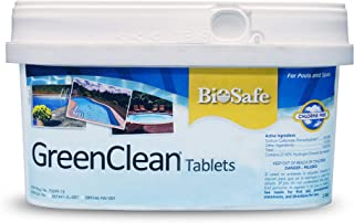 GreenCleanMAX Tablets - 2 lbs - Slow Dissolve Algae Control for Swimming Pools - Chlorine Free - EPA Registered