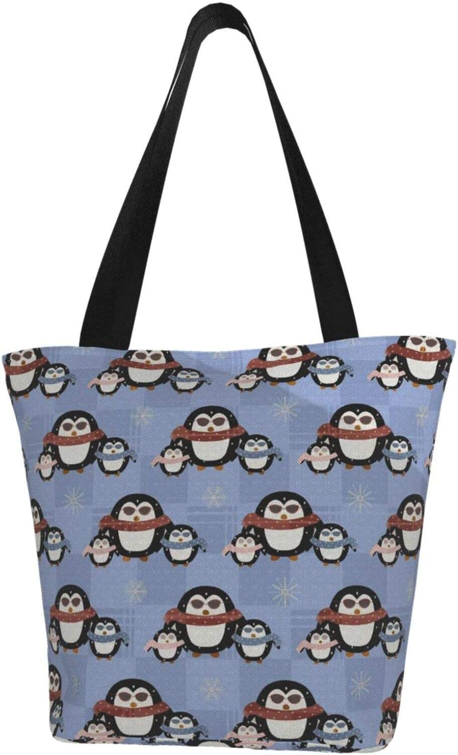 AKLID Cute Penguin Christmas Extra Large Canvas Resistant Water Max 75% OFF Max 75% OFF