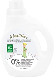Le Petit Prince Newborn Laundry Detergent, 2 in 1 Detergent and Fabric Softener for Baby Clothes, Delicate Laundry Deterge...