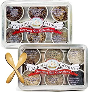 The Infused + Smoked Two-Pack Sampler Gift Set – 6 Resuable Tins with Bamboo Spoon..