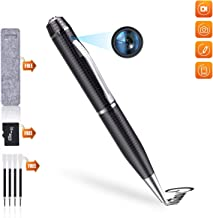 Spy Pen Hidden Camera Pen, HD 1080P Video and Photo Pocket Cam, Built-in 32GB Memory Card, Suitable for Business and Home