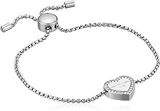 Michael Kors Womens Heritage Heart Adjustable Bracelet