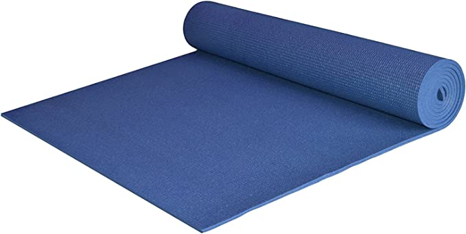 Amazon.com : Extra Wide and Extra Long 1/4'' Deluxe Yoga Mat - Black :  Exercise Mats : Sports & Outdoors