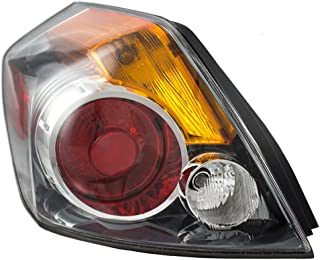 Drivers Taillight Tail Lamp Lens Replacement for 07-12 Nissan Altima Sedan 26555-ZN50A