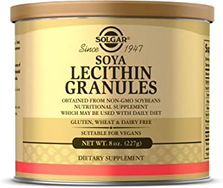 Solgar Lecithin Granules, 8 oz. - Supports Overall Health - Natural Soya Lecithin - Source of Choline & Essential Fatty Ac...