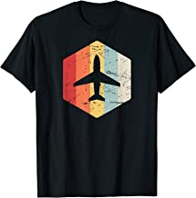 Retro Pilot Gift For Airplane Pilots - Private & Commercial T-Shirt