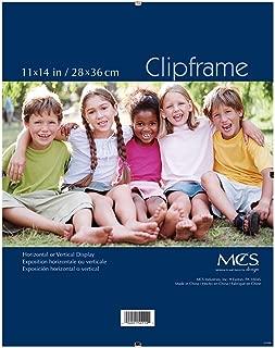 MCS 11x14 Inch Glass Clip Frame (65597)