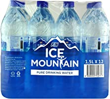 Ice Mountain Pure Drinking Water, 12 x 1.5L