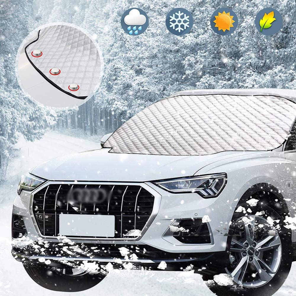 Free shipping Genuine Free Shipping anywhere in the nation Roboraty Car SUV Snow Cover Thick Sunshade Windshield Front Al