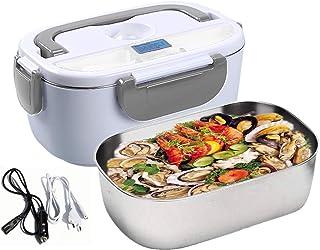 Nifogo Boîte à Lunch électrique Lunch Box Électrique 3 en 1 pour la Voiture Un camionet et Bureau - Gamelle Chauffante Aci...