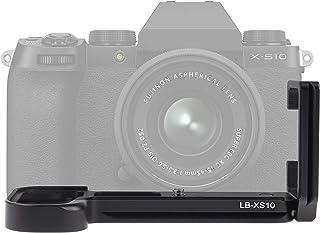 Aluminium QR Quick Release L Beacket plåthållare handtag för FUJIFILM X-S10 systemkamera