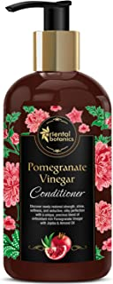Oriental Botanics Pomegranate Vinegar Conditioner, 300ml - With Golden Jojoba Oil, Almond, For Healthy, Strong Hair with Antioxidant Boost