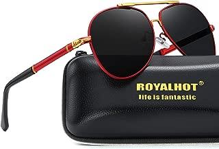 Men Polarized Aviator Sunglasses Premium Military Style Classic Driving 90084