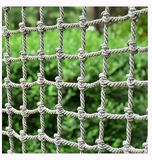 LYRFHW Nylon Nets Kindergarten Playground Anti-Fall Net Outdoor Children Climbing Net Stairs Balcony Safety Netting Multi-Function Rope Nets (18mm / 20cm)