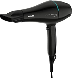 Philips DryCare Pro Hairdryer. 2100 W. AC. ThermoProtect temperature setting. Cool Shot. Speed 130 km/h.Six speed and heat...