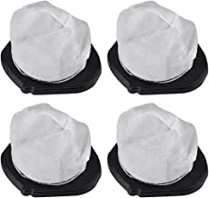 KEEPOW 4 Pack Dust Cup Filters for Shark Cordless Hand Vac SV780 SV75Z, Replacement Part# XF769, XSB726N