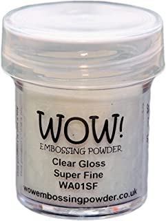Wow Embossing Powder Large Jar 160ml-Clear Gloss