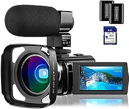 "4K Video Camera Camcorder Vlogging Camera for YouTube Rosdeca Ultra HD 48.0MP WiFi Digital Camera IR Night Vision 3.0"" IPS..."