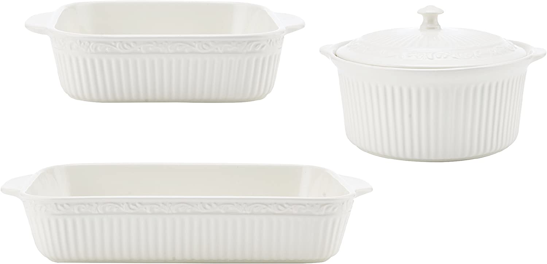 Mikasa Italian Countryside 3-Piece Bakeware Set
